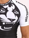 "Rashguard - Shortsleeve - ""Signature"" - Black & White"