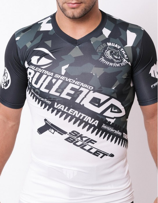"Rashguard - ""Valentina Signature Camo Series"" - Dark Grey"