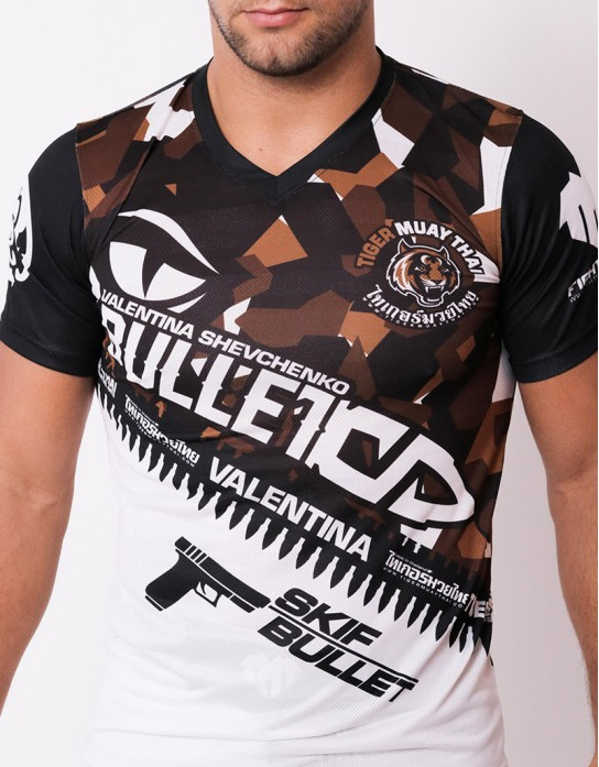 "T-Shirt - ""Valentina Signature Camo Series"" - Airflow - Dark Desert"