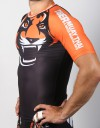 "Rashguard - Shortsleeve - ""Signature"" - Black & Orange"