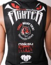 "Female Low-cut Tank-Top - ""TMT Fighter 2017"" - Airflow - Black"