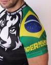 "T-Shirt - ""Signature Tiger Head"" - Flag Edition - BRAZIL"