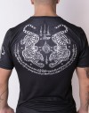 "T-Shirt - ""Tiger Sak Yan Tattoo"" - Soft Tech - Black"