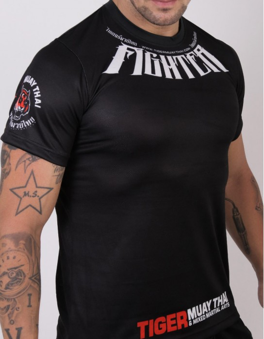 "T-Shirt - ""TMT Fighter 2017"" - Airflow - Black"