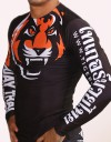 "Rashguard - Longsleeve  - ""Signature"" - Black & Orange"