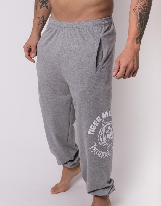 """Sweatpants - """"TMT Logo"""" - French Terry - Top Dyed"""