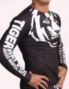 """Rashguard - Longsleeve - """"Black & White Edition"""" - Black"""