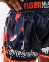 "Muay Thai Shorts - ""Clawmark"" - Black"