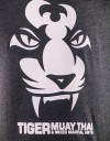 "T-Shirt - ""Tiger Face"" - Cotton - Black"