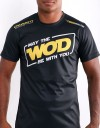 "T-Shirt - ""May The WOD Be with You"" - Soft Tech - Black"