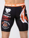 "MMA Shorts - ""TMT & Vamos"" - White & Black"