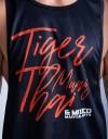 """Low-cut Tank-Top - """"TMT Claw"""" - 1stDry - Black"""