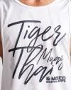 """Low-cut Tank-Top - """"TMT Claw"""" - 1stDry - White"""