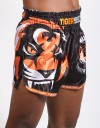 "Muay Thai Shorts - ""Signature"" - Black & Orange"