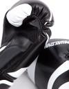 """Gloves - Muay Thai - """"Eyes"""" - Black & White"""