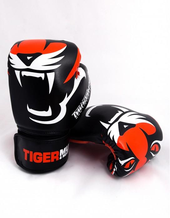 """Gloves - Muay Thai - """"V.2"""" - Black"""