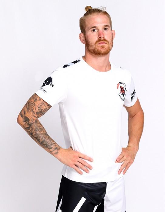 """T-Shirt -  """"Clawmark"""" - 1stDry - White"""