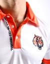 Polo Shirt - Jacquard - White