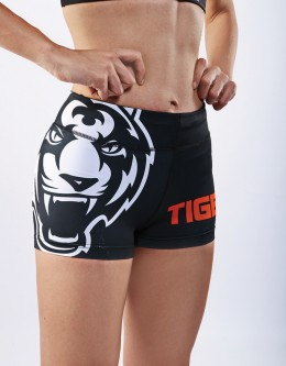 "Fitness Hotpants - ""Signature"" - Black & White"