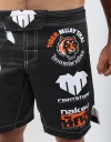 """MMA Shorts - """"Clawmark"""" - Black"""