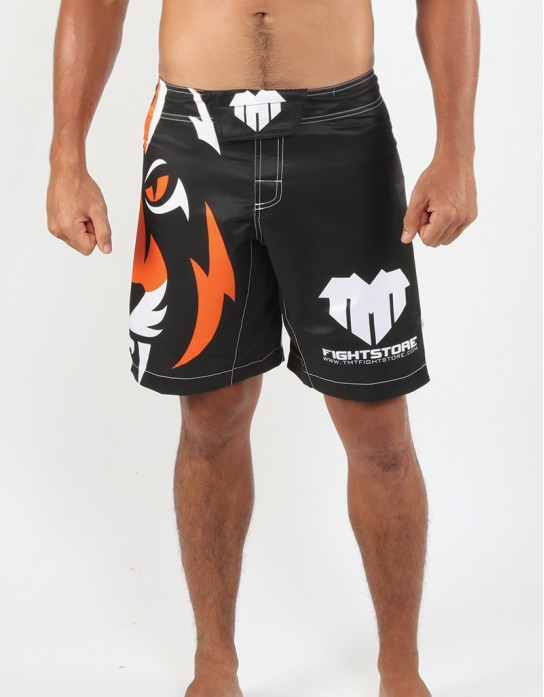 "MMA Shorts - ""Signature 2017 Edition"" - Black & Orange"