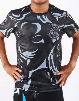 "T-Shirt -  ""Camo"" - 1stDry - Grey"