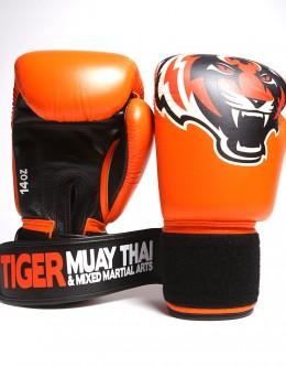 """Gloves - Muay Thai - """"Signature"""" - Orange"""