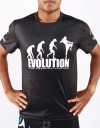 "T-Shirt -  ""Evolution MT"" - 1stDry - Black"