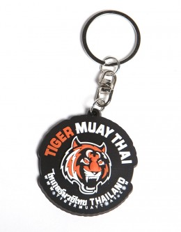 Tiger Head Rubber Key-Chain