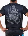 """T-Shirt -  """"Sak Yan Hanuman"""" - 1stDry - Black"""