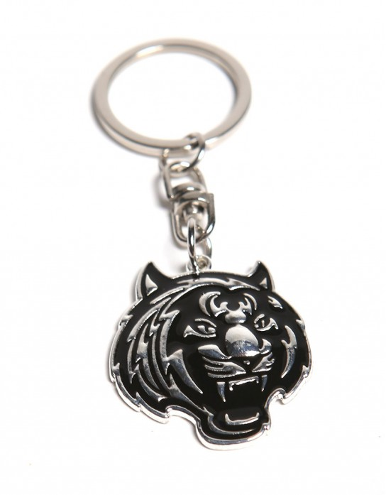 Tiger Head Metal Key-Chain
