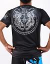 "T-Shirt -  ""Sak Yan Tiger"" - 1stDry - Black"
