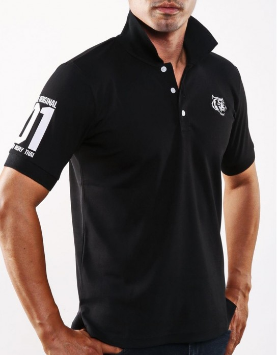 "Polo Shirt - ""The Original 01"" - Black"