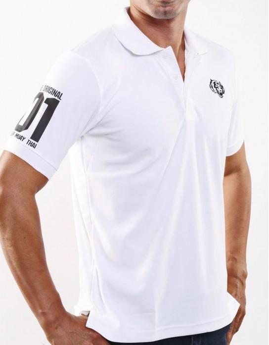 """Polo Shirt - """"The Original 01"""" - White"""