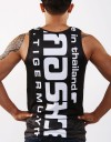 "Tank-Top - ""Arrow Thai Writing"" - 1stDry - Black & White"