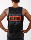 "Tank-Top - ""Western Boxing"" - 1stDry - Black"
