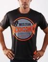 "T-Shirt - ""Western Boxing"" - 1stDry - Black"