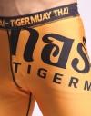 "Compression Shorts - ""Thai Writing XL"" - Yellow & Black"