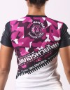 "T-Shirt  - ""Valentina Signature Camo Series"" - Air Flow - Bright Pink"