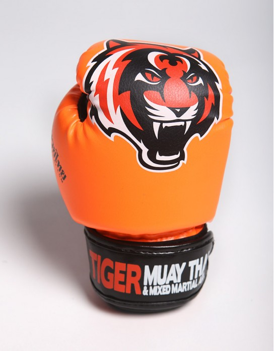 "Kids Gloves - Muay Thai - ""Signature"" - Orange"