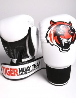 """Gloves - Muay Thai - """"Signature"""" - White"""