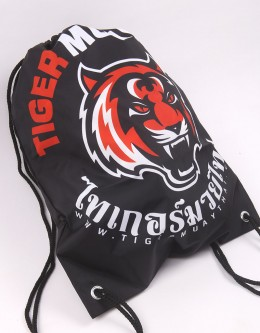 "TMT String Bag - ""Tiger Head"""