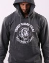 "Pullover Hoodie - ""Big TMT Logo"" - French Terry - Dark Top Dyed"