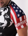 "T-Shirt - ""Signature Tiger Head"" - Flag Edition - USA"